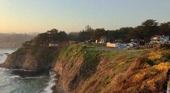 Mendocino cottages