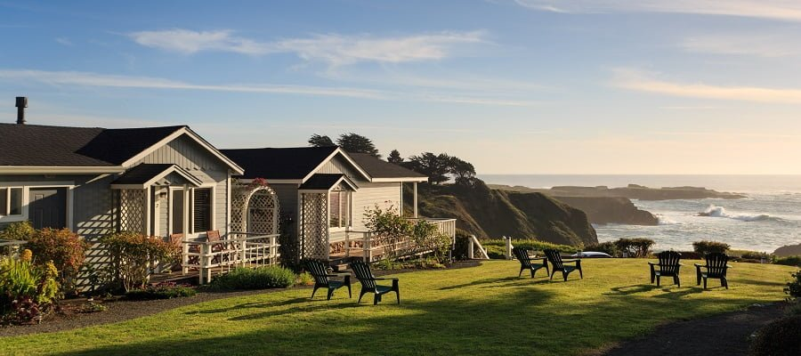 Sea Rock Inn, a Mendocino CA bed and breakfast